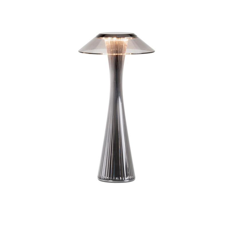 Lampada da Tavolo Led Kartell Space Titanio 9220/TT