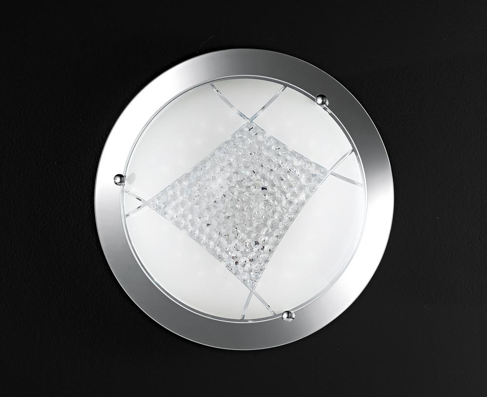 Plafoniere Per Palo : Plafoniera perenz cromo l altra luce