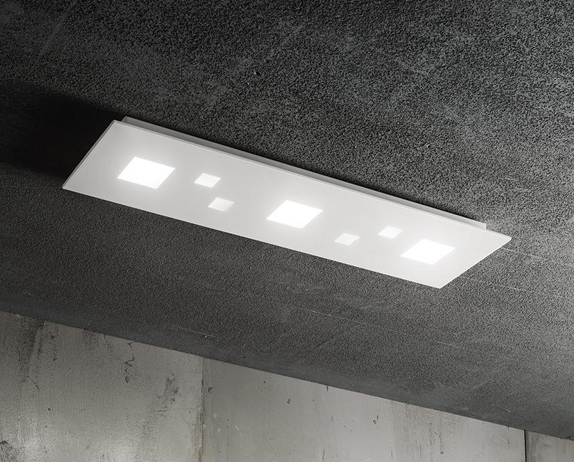 Plafoniere Con Led Integrato : Plafoniera perenz bianca led 6392 b lc laltra luce