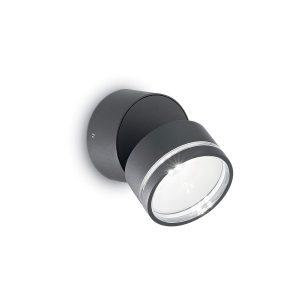 Lampada da Parete Applique Ideal Lux Led Omega Round AP1