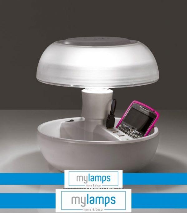 Lampada Joyo  Light Colours White