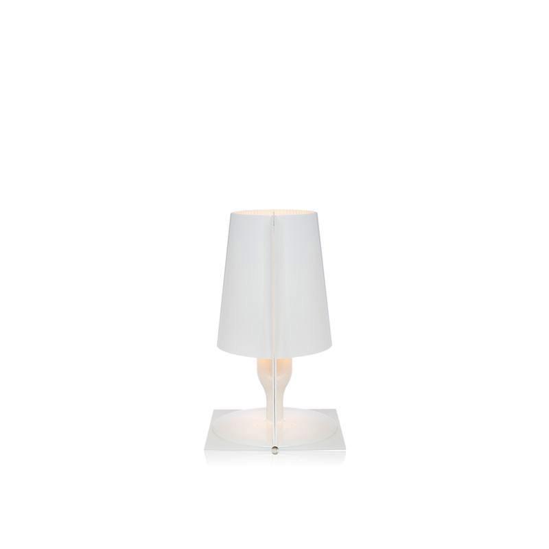 Lampada da Tavolo Kartell Take Bianca 9050 Q7 | L\'Altra Luce