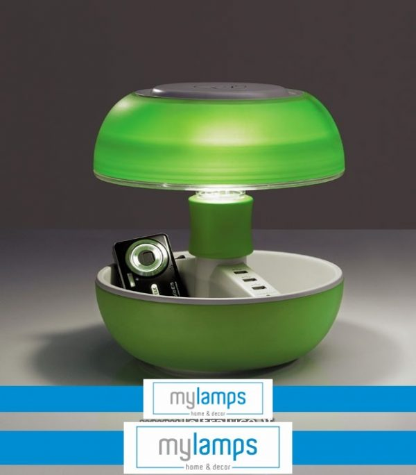 Lampada Joyo  Light Colours Green